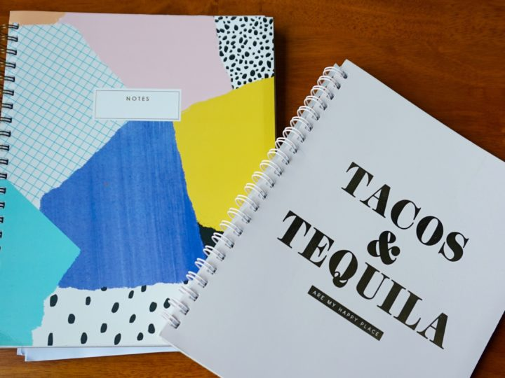 Typo notebooks and stationary