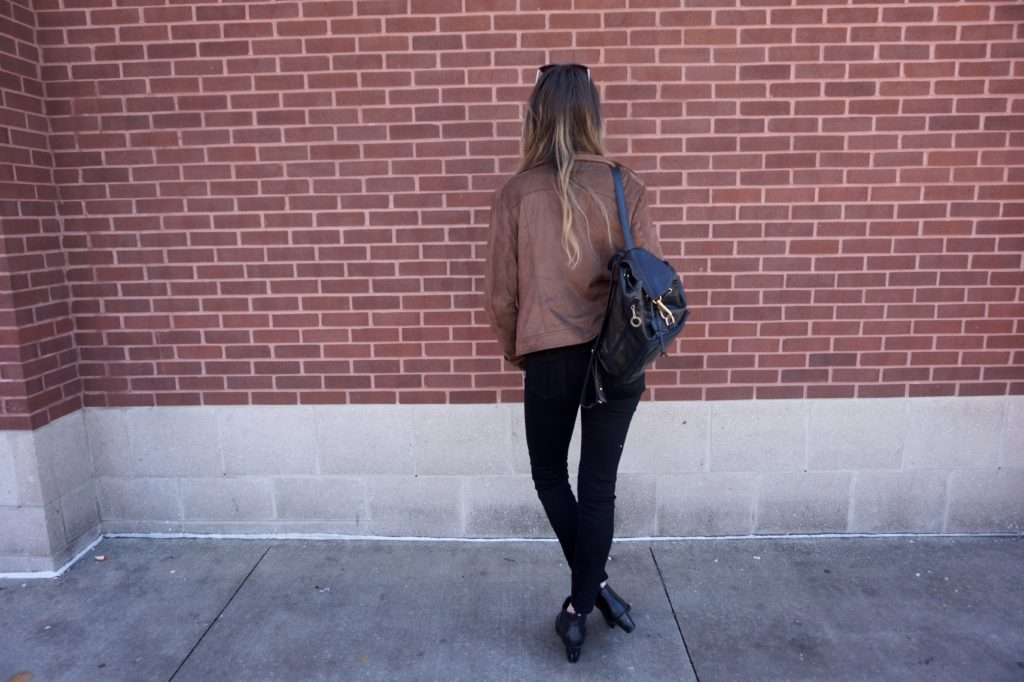 Outfit of the Day: My Favorite Camel Motor Jacket