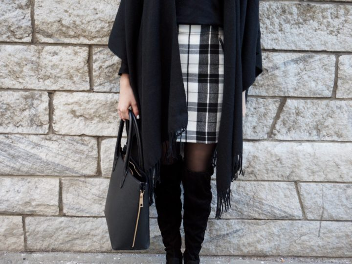 plaid outfit of the day