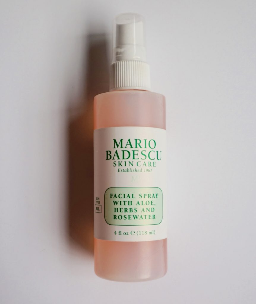 Mario Badescu Rose Water Spray - How to Combat Dryness When Flying- Skincare Routine