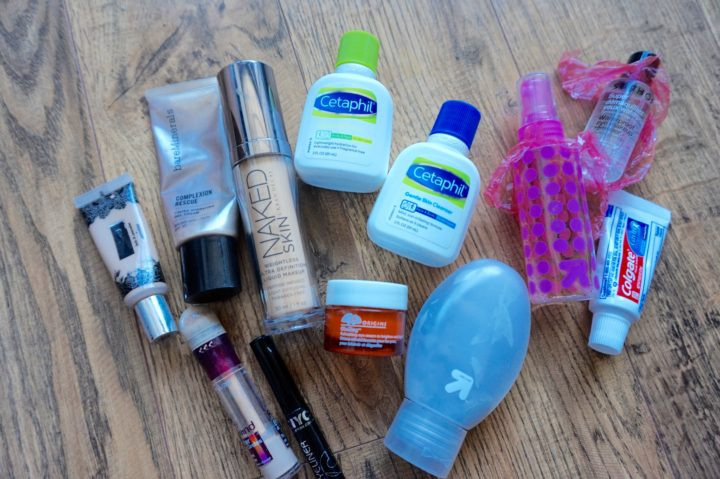 How to Perfectly Pack your toiletries
