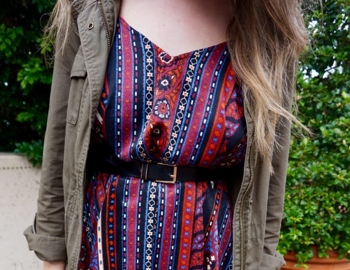 Outfit of the Day: A Trip to the Zoo, A Tribal Print Dress