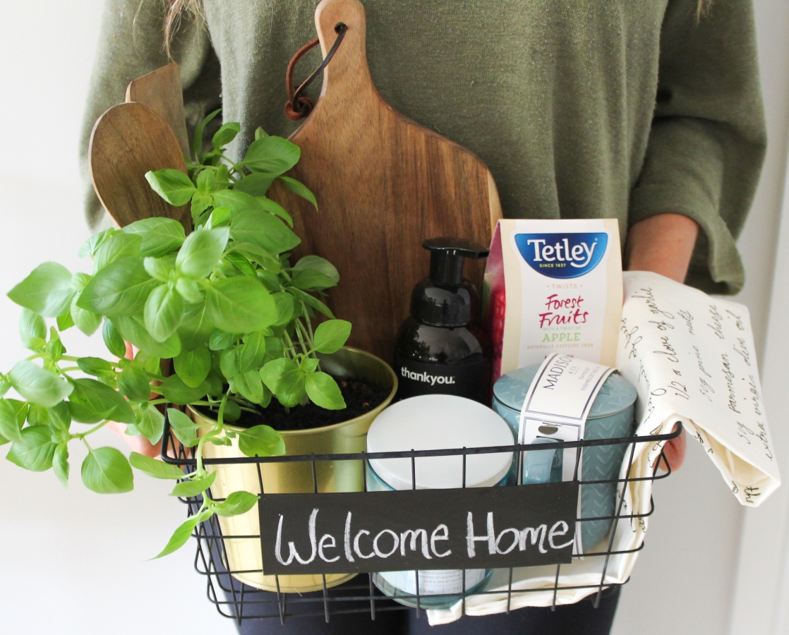 Diy Housewarming Basket How To Create The Perfect